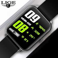 LIGE Smart Uhren Männer Frauen Smartwatch Herz Rate Schritt Kalorien Fitness Tracking Sport Armband Für Apple Android Smart Uhr