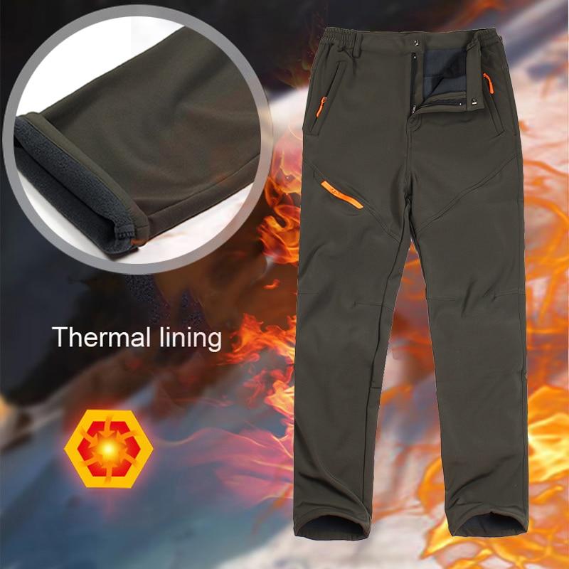 Мужские бархатные штаны для кемпинга, лыжные брюки с мягкой оболочкой, брюки для улицы для снега до 40 градусов, лыжные брюки для сноуборда для мужчин/женщин