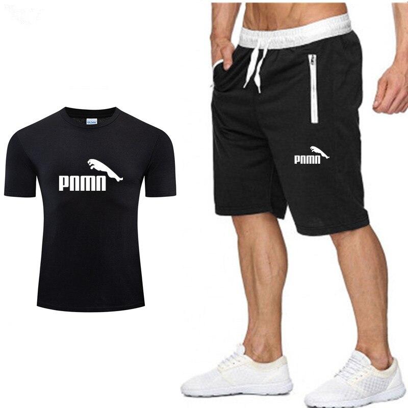New Set men outfits t-shirt shorts summer short set tracksuit men sport suit jogging sweatsuit basketball jersey