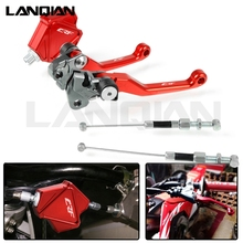 For Honda CRF Motorcycle Easy Pull Clutch Lever System and Brake Clutch Lever CRF 250/250X CRF 450R 450X CRF 250R 150R 2007-2018 for honda crf 250 450 r crf250x crf 450r 450x motorcycle brake clutch lever pivot lever crf450r crf250r crf450x crf150r 07 2018