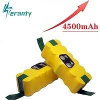 Teranty power 14.4v 3500 mah bateria de substituição estendida-para irobot roomba 500 600 700 800 série aspirador de pó 785 530 560 650