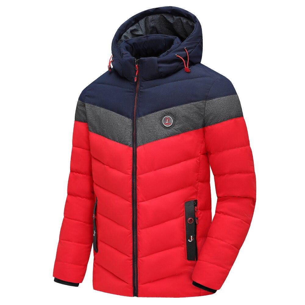 Men 2020 Winter Brand New Casual Warm Thick Waterproof Jacket Parkas Coat Men New Autumn Outwear Windproof Hat Parkas Jacket Men 4