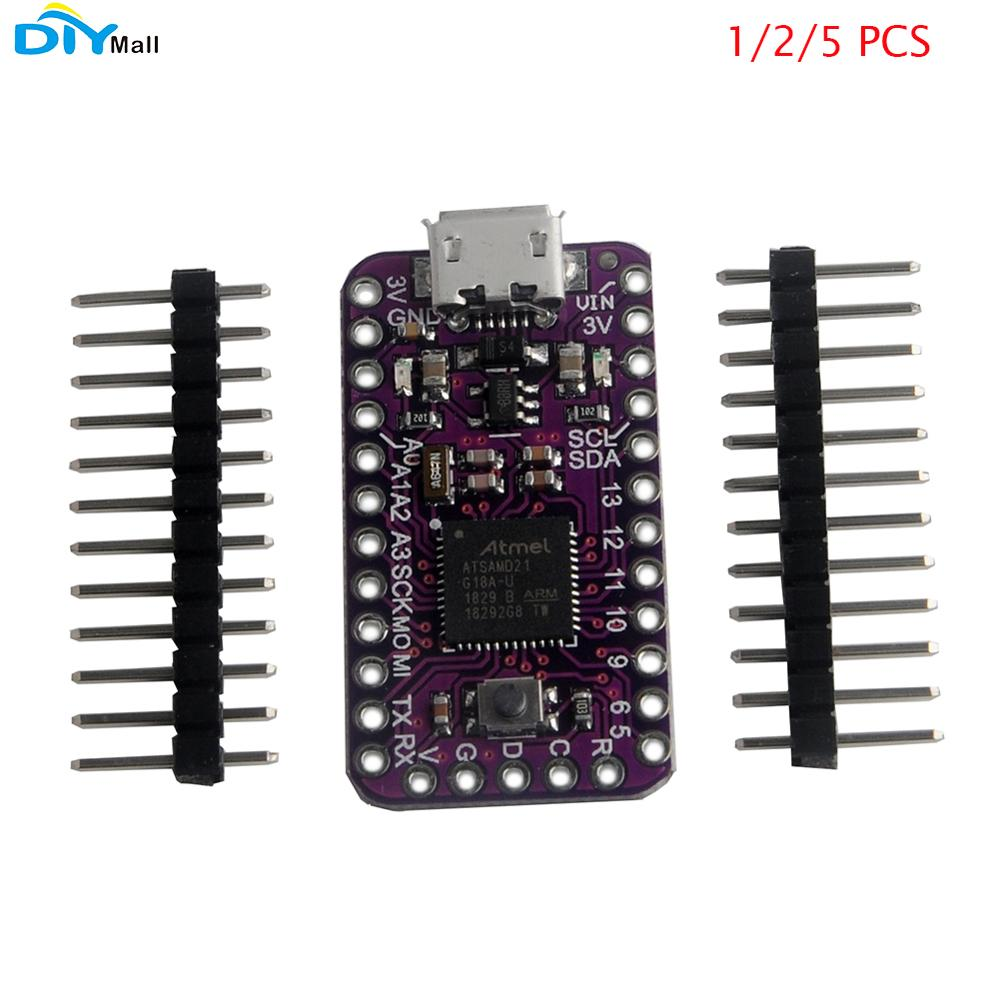 1/2/5pcs GY-SAMD21 Mini Breakout Sensor For Arduino IDE Atmel ATSAMD21G18 32-bit ARM Cortex-M0
