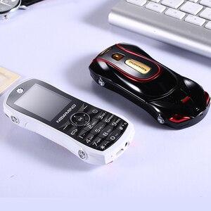 Image 3 - Newmind 2G GSM נעילת רכב צורת מיני טלפון SOS מהיר חיוג ספר אלקטרוני משחק Bluetooth נמוך קרינה 3.5mm שקע ילד תלמיד נייד