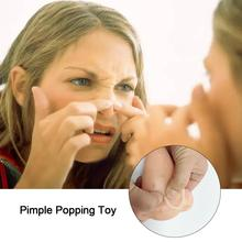 Pimple Popping Toy 11 Holes Acne Squeeze Toys Pressure Relief Prank For Children Adult