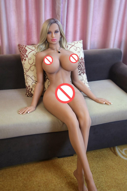 H312e876ee747478c972827244fdd5322V AYIREN-muñecas sexuales realistas para hombres adultos, juguete de amor de silicona de 170cm, pechos grandes, culo grande, belleza superior, coño, Vagina, Oral y Anal