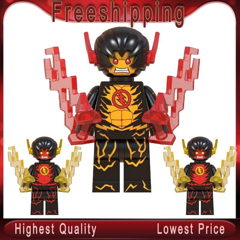 Legoing Super Hero DC las figuras de Flash inverso Juguetes minifigura DE ACCIÓN bloques de construcción de Juguetes de regalo para niños WM504