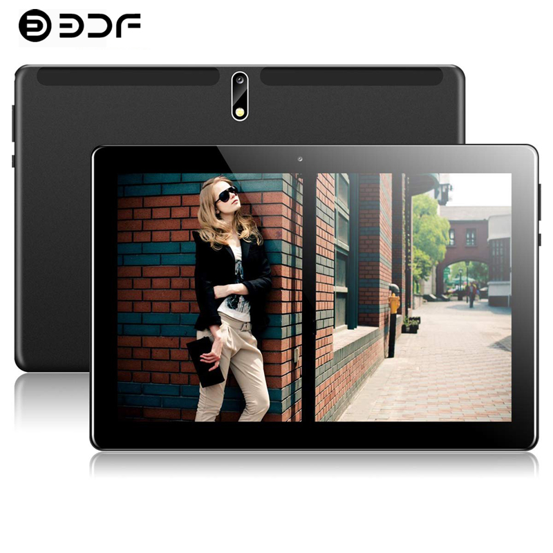 2020 New 10.1 Inch Tablet PC 2.5D Steel Screen Android 9.0 8GB+128GB ROM Ten Core 4G Phone Call Bluetooth Wi-Fi Tablet +Keyboard