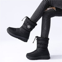 MORAZORA 2020 New women boots thick fur warm Winter Boots cotton Shoes woman sonw boots platform waterproof Women's ankle boots