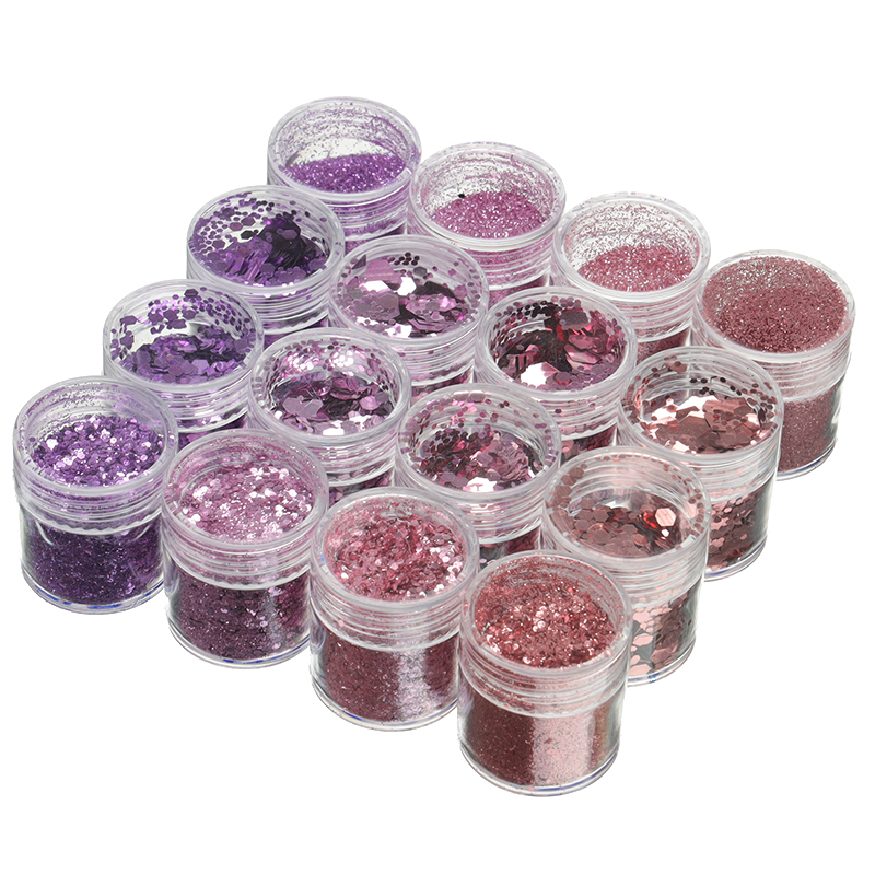 Hexagon Glitter Sequin 1mm Bling Filling Materials For Resin Craft Festive Wedding Decor UV Resin Pigment Jewelry Tools