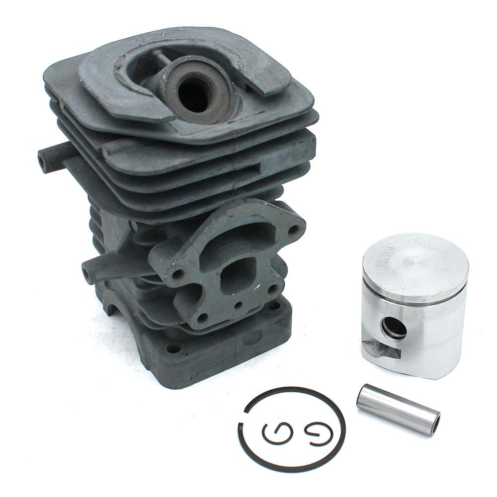 39mm Cylinder Piston Kit For Husqvarna 230 235 235E 236 236E 240 240E Jonsered  CS2234 CS2234S CS2238 CS2238S RedMax GZ380