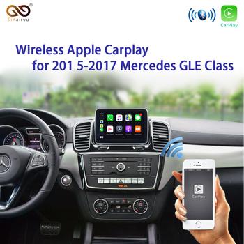 Modernizacja rynku wtórnego Sinairyu dla mercedesa bezprzewodowa Apple CarPlay GLE klasa W166 C292 15-19 NTG5 gra samochodowa z kamerą tylną tanie i dobre opinie CN (pochodzenie) 0 78kg Wireless OEM Apple Carplay Retrofit Srebrny 14 5cm*8 8cm*2 9cm 12 v YUDAI-2 30hz-70hz Aluminum 2015-2019 G GL GLA GLK Class