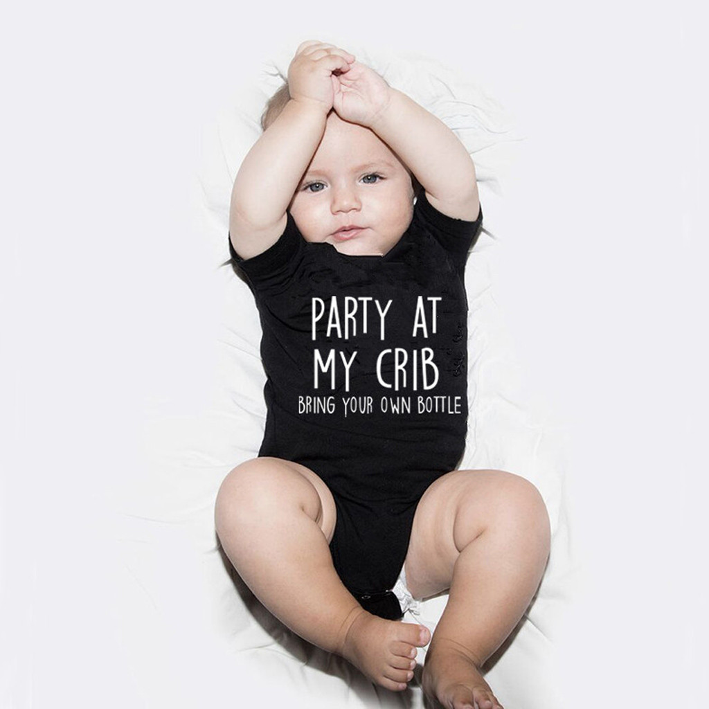 Jumpsuit for newborns; Jumpsuit for little girls; same clothes; print funny letters; baby clothing; overalls; 2020 drop shipping
