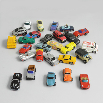 10pcs N Scale 1:150 Diorama Plastic Car Toys Model Miniature Metal vehicle Architecture For Children Gifts Or Hobby Collection недорого