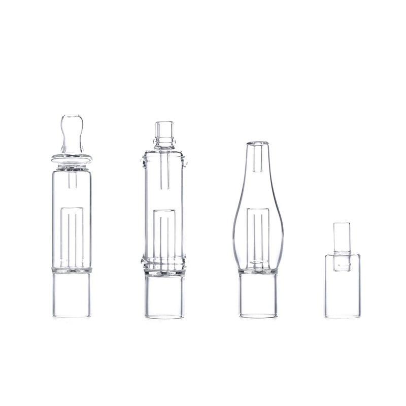 G9 19MM Detachable Glass Bubbler Mouthpiece Bong Attachment for 510 Nail/H Enail/Henail Plus/TC PORT/Clean Pen/GDIP Dab Rig Kit 6