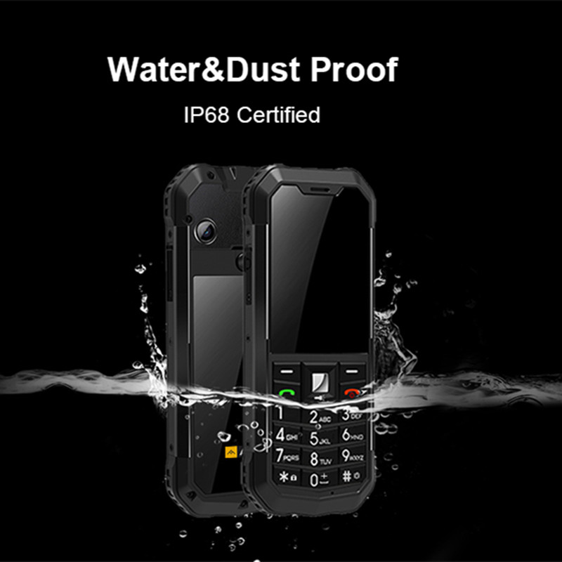 Image 5 - AGM M3 Rugged Dual SIM Outdoor 2.4 Phone IP68 Waterproof  Shockproof Dustproof Torch 1970mAh Flashlight Cell PhoneCellphones   -