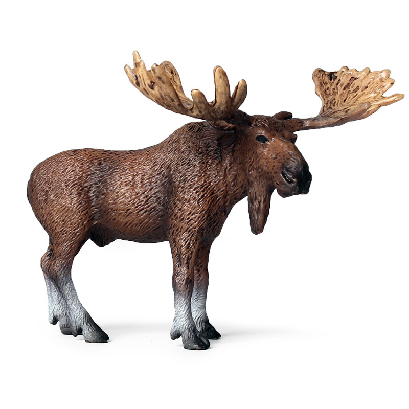 ELK Model Action Figure Simulation Wild Animal Action Figures Collection PVC Toy Kids Gift