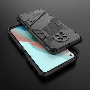 Image 5 - Schokbestendig Case Hybrid Armor Bumper Cool Punk Houder Voor Xiaomi Redmi 9 T Case Redmi Note 9 T 5G premium Cover Redmi 9 T T9