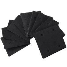10 Pcs Self Adhesive Foam Part Sander Back Pad Sanding Mat for Makita 4510