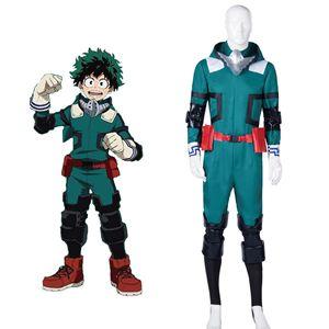 Аниме My Hero academic Boku no Hero academic Midoriya Izuku Deku костюм для косплея боевой костюм мужской комбинезон карнавальный полный комплект