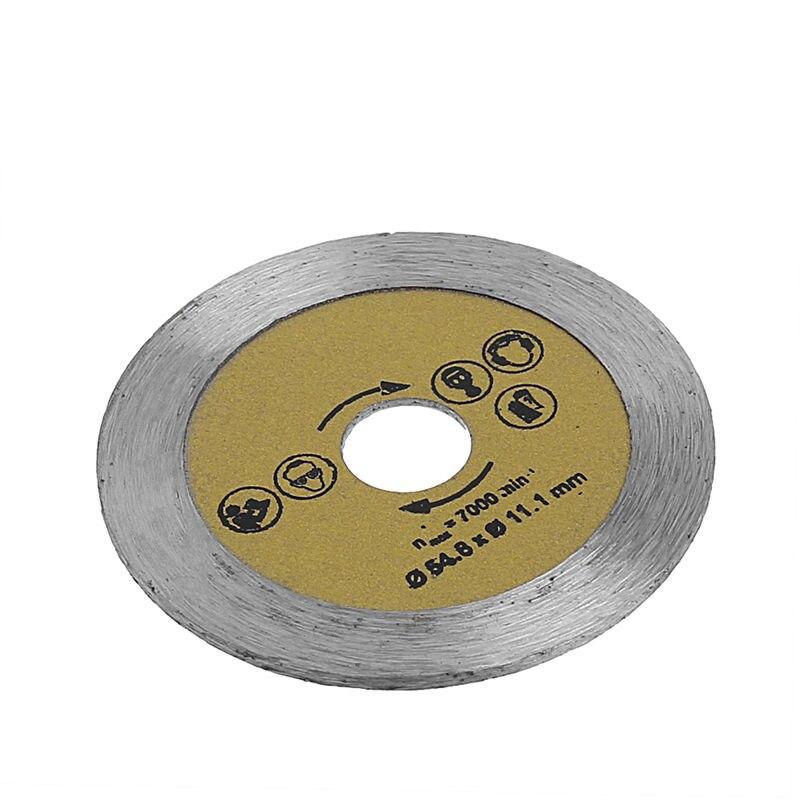 3Pcs 54.8mm HSS Mini Wood Circular Saw Blade Cutting Blade Rotary Tool