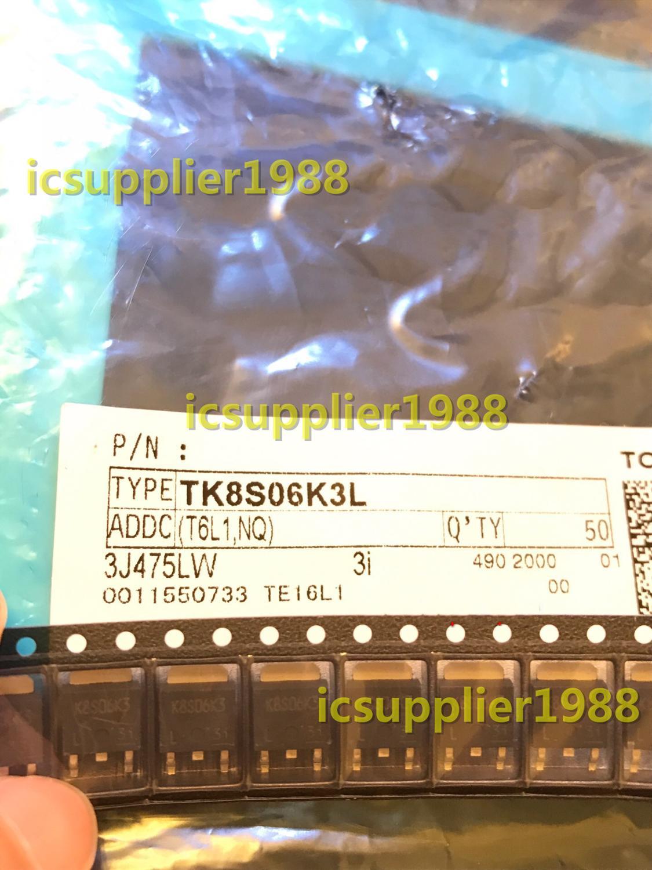 TK8S06K3L(T6L1,NQ) MOSFET N-CH 60V 8A DPAK TO252 10PCS/LOT