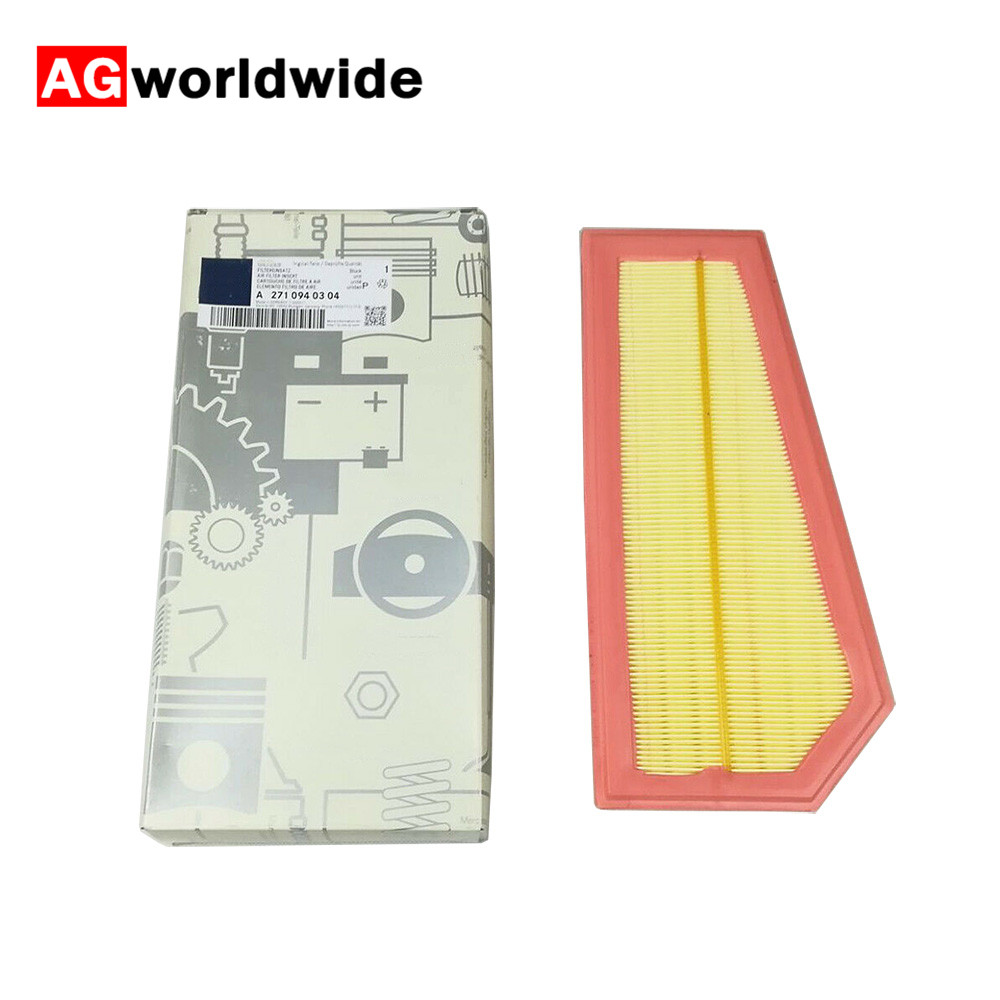 Car Air Filter Replacement Accessories 2710940304 Fit for Mercedes-Benz C-Class E-Class SLK (R172) 200 /250 Air Intake Filter Ne(China)