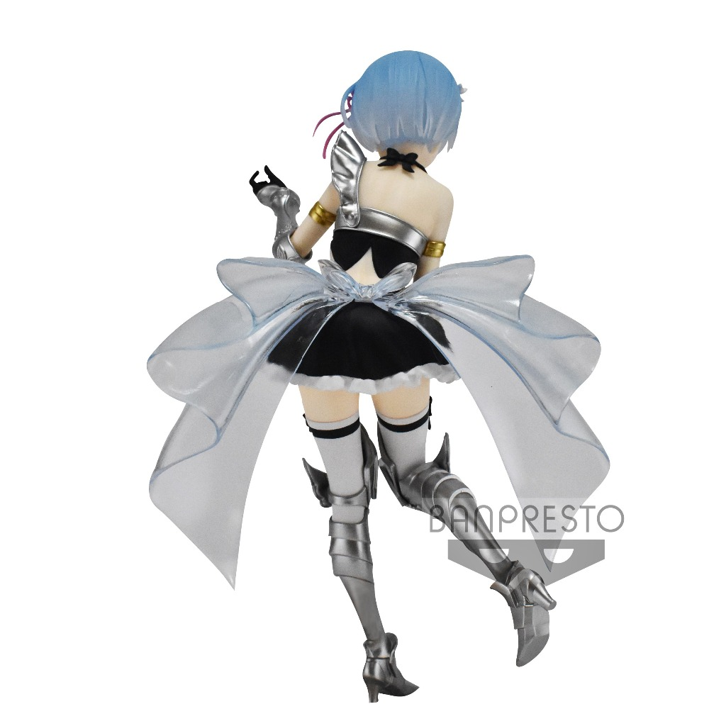 Banpresto Re zero EXQFigure Figurine ~ REM vol.4 maid Armor 21㎝