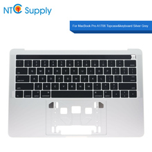 NTC Supply Topcase&keyboard Silver Grey For MacBook Pro 13.3 inch A1706 2016 2017 Year 100% Tested Good Function