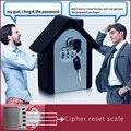 Key safe passwort und key lock hause familie im freien sicherheit schlüssel lagerung box wand passwort lock-box