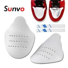 Sapato protetor para tênis anti vinco toe caps sapato maca expansor shaper suporte esporte sapatos enrugado protetor dropshipping