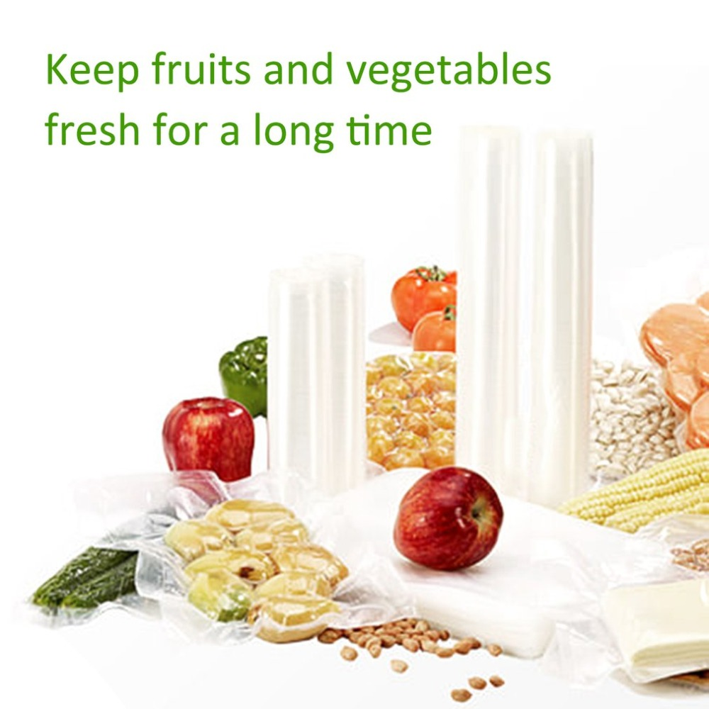 Household Supplies 1 Roll Vacuum Fresh-keeping Bag Sealer Food Storage Bags Packaging Film Keep Fresh Non-toxic Packing Bag