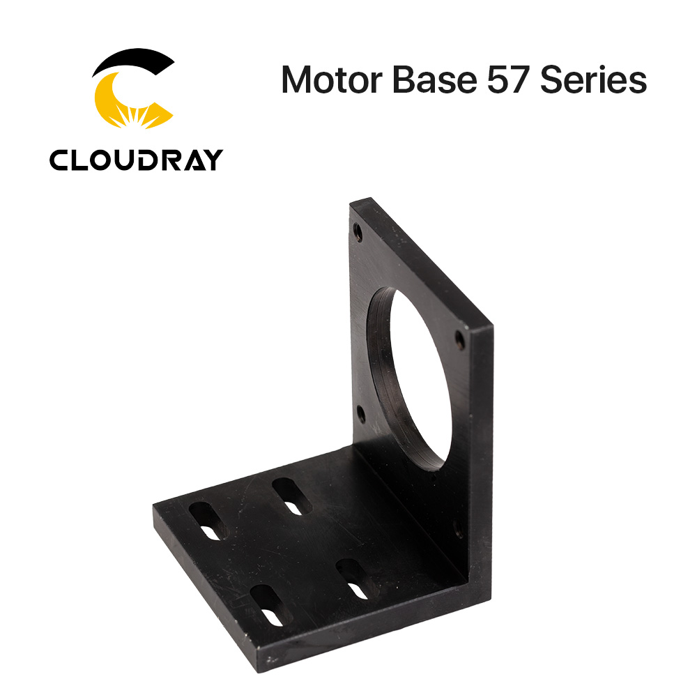 Cloudray Motor Base For 57 Stepper Motor Aluminum Fixed Seat Fastener Mounting Bracket Support