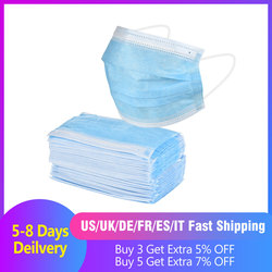 Surgical Mask 10pcs/50pcs Fast Delivery Hot Sale Surgical Mask Safety Sealed Pack Mecial Masks Anti Dust Bacteria Proof Mask Protective Mask