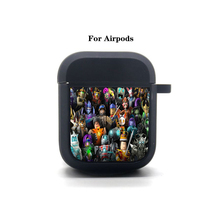 Anime Game Cartoon Airpods Case Protective Cover Bluetooth Airpods 1 2 Headphone case Earphone Soft Silicone Case