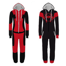 Adult Deadpool Pijama Superhero Costume Man Pajamas Women Jumpsuits Cosplay Halloween Costumes for Women Christmas Party Outfit