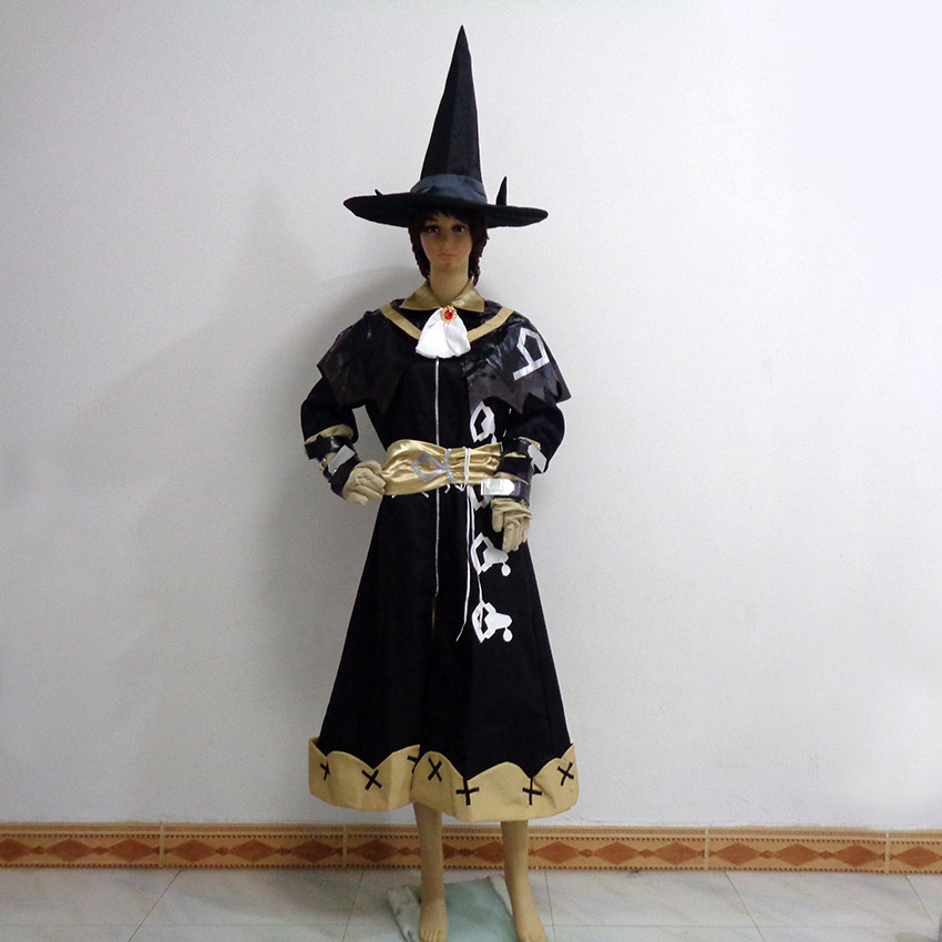 Final Fantasy Black Mage Cosplay Cos Christmas Party Halloween Uniform Outfit Cosplay Costume Customize Any Size