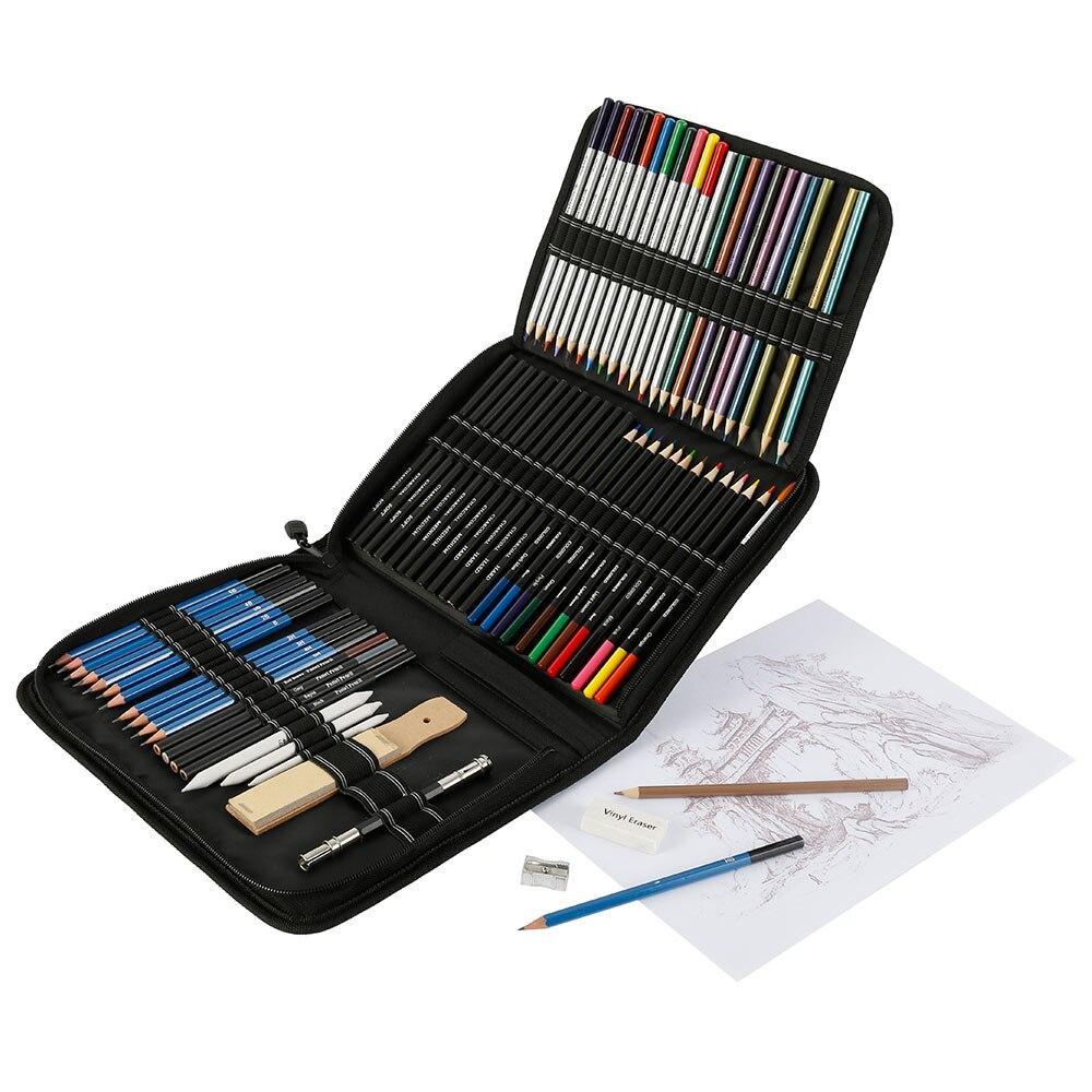 kit arte suprimentos para crianças estudante presente