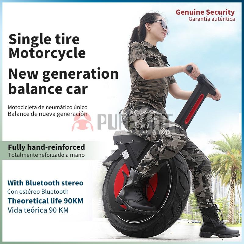 Balance voiture électrique moto pouces grand siège de banlieue hors route roue simple