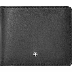 Montblanc Anderen Porta carte di credito, 12 cm, Grigio (Grau)