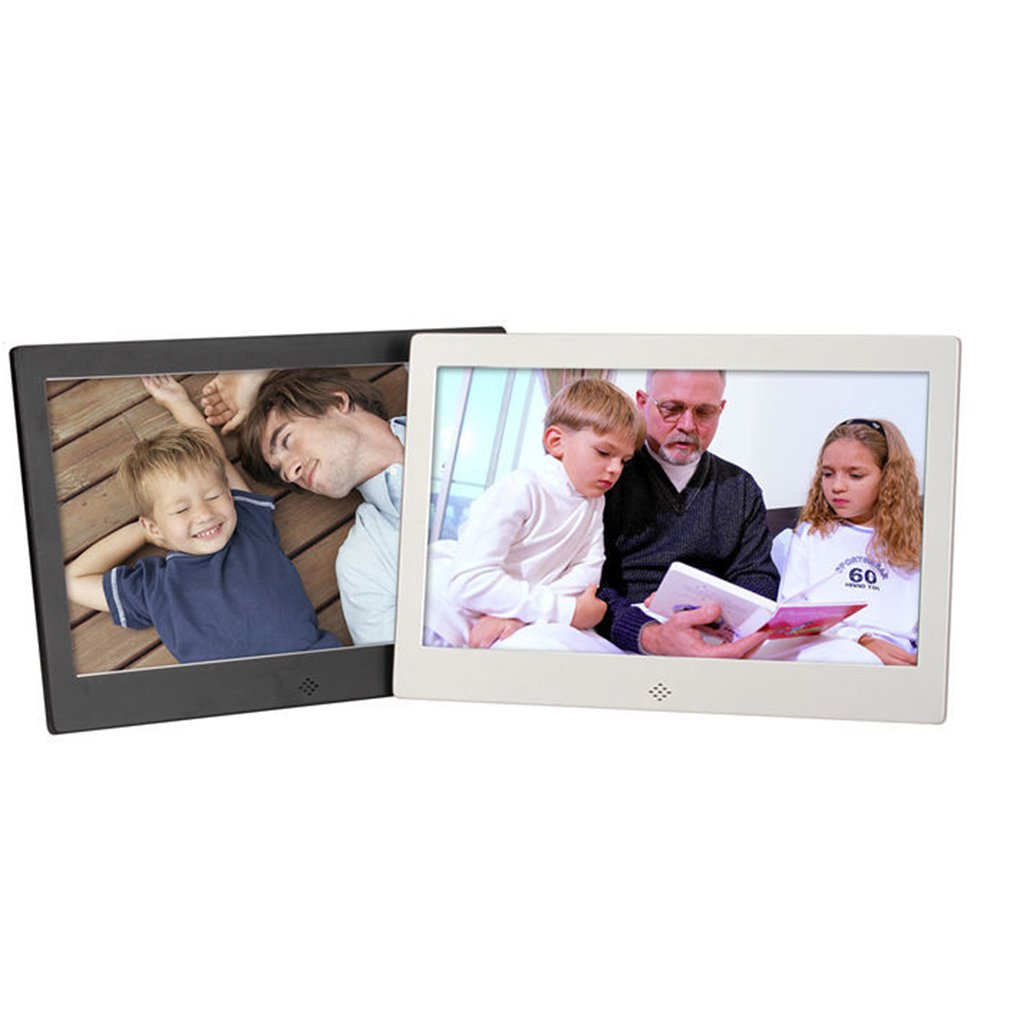 10 Inch Screen LED Backlight HD Digital Photo Frame Electronic Album Picture Music Movie Full Function Good Gift image