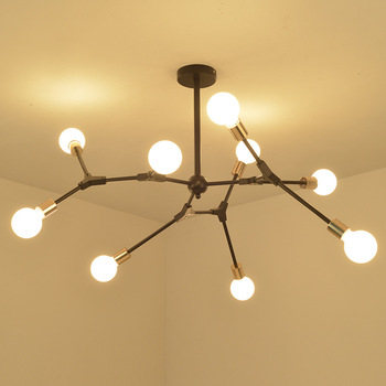 LED Â�ャンデリア北欧スタイルクリエイティブ要素リビングルームの寝室のモダンなミニマリストのレストランシャンデリア照明
