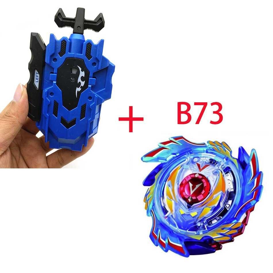 Волчок Beyblade BURST B-130 B-117 с пусковым устройством Bayblade Bay blade металл пластик Fusion 4D Подарочные игрушки для детей - Цвет: B73