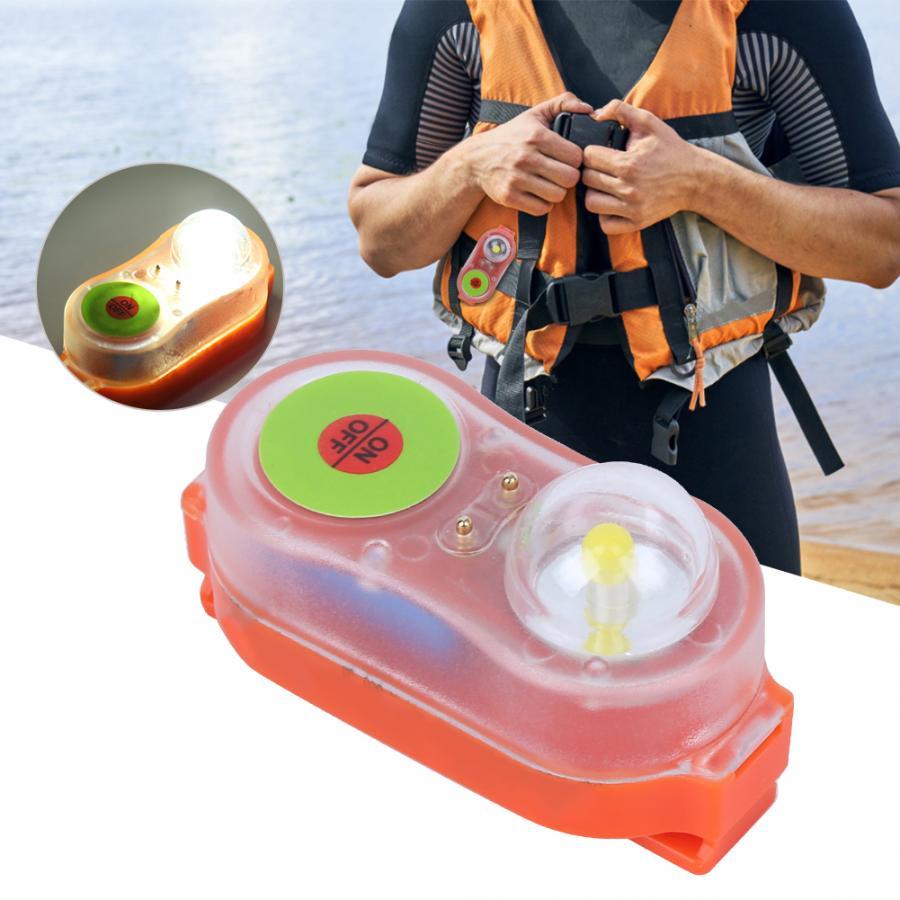 Спасательный жилет для серфинга, светодиодный литиевый спасательный жилет, самоосветительный спасательный жилет для морской воды, яркий п...
