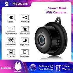 Мини Wifi камера Smart Auto IR-Cut ночное видение HD видео датчик движения секретная микро камера IP P2P безопасность домашняя камера наблюдения