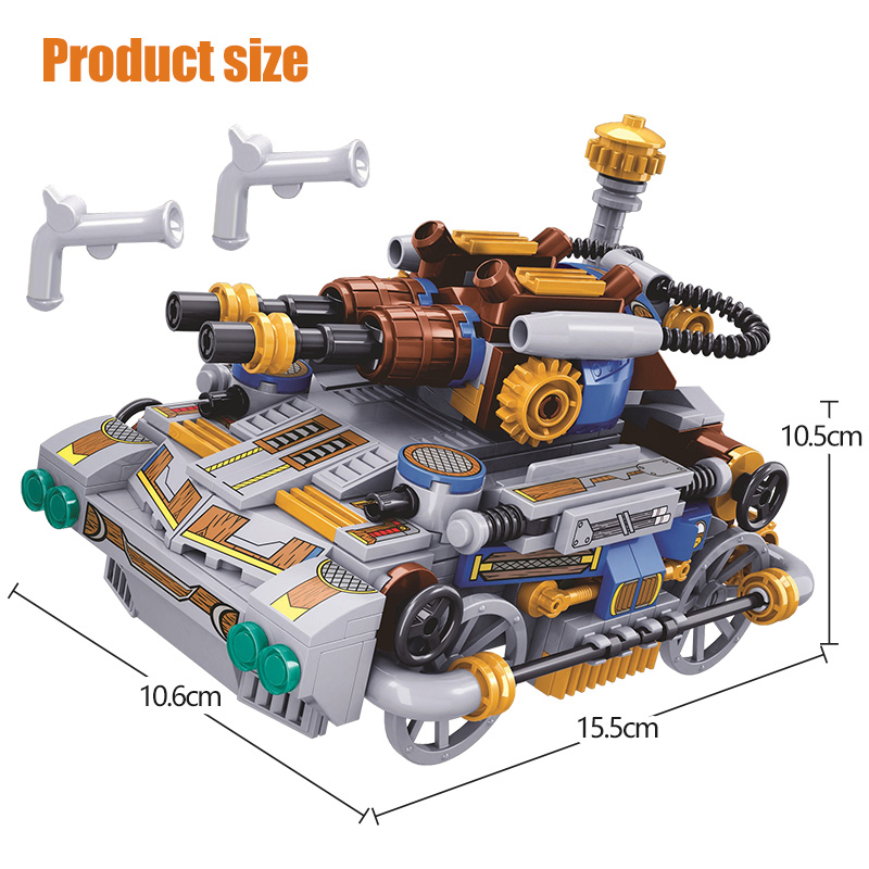 Winner The Age of Steam Tank Building Blocks