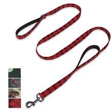 Hyhug laisse à Double poignée de 6 pieds et 18 pouces, pour chiens géants moyens et grands, usage quotidien et entraînement professionnel