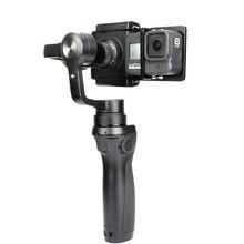 مثبت Gimbal محول التبديل لوحة جبل ل Gopro بطل 8 7 6 5 SJCAM يي 4K DJI oomo Feiyu Zhiyun عمل كاميرا الملحقات