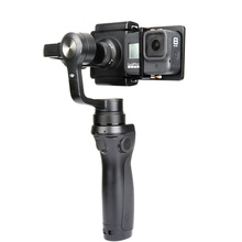 Stabilizer Gimbal Adapter Switch Plate Mount For Gopro Hero 8 7 6 5 SJCAM Yi 4K DJI OSMO Feiyu Zhiyun Action Camera Accessories