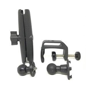 Image 5 - Jadkinstaหนักอลูมิเนียม1นิ้วBall Clamp Mount 15ซม.ความยาวแขนซ็อกเก็ตคู่สำหรับiPadแท็บเล็ตผู้ถือGopro